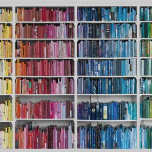 Foto tapetai Library - Colourful knowledge, P131504-W