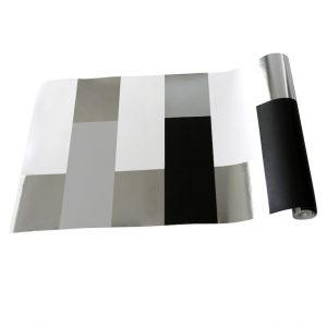 TAPETAI BLOCK Grey_White_Silver