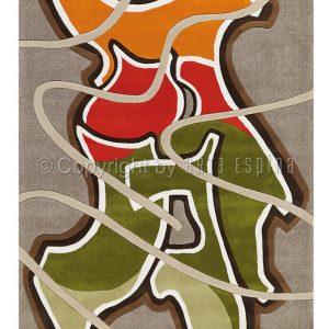 KILIMAS Arte Espina 3118-38