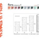 Gyvatukas Dekorama K8 Flora 1