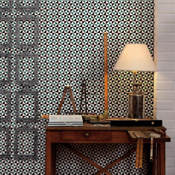Tapetai fez tiles dekorama for Fez tiles
