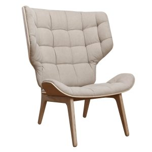 Baldai kede dekorama Mammoth Chair beige 1