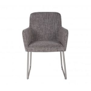 Baldai kede dekorama Crafton dining chair with arm grey
