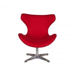 Baldai kede dekorama Papillon chair red