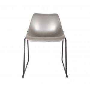 Baldai kede dekorama woood Bucket chair silver