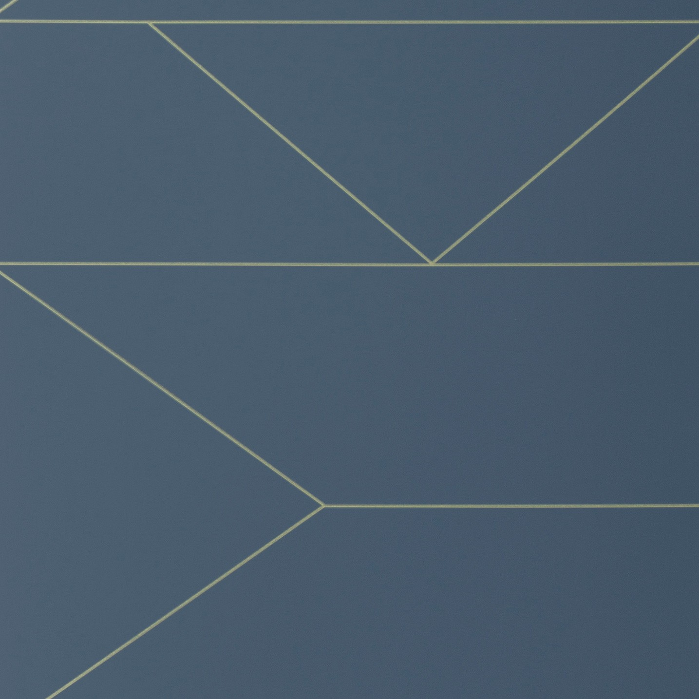 TAPETAI LINES WALLPAPER- DARK BLUE, FERMLIVING