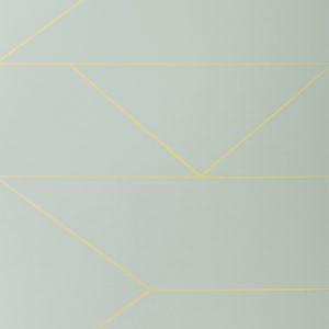 TAPETAI LINES WALLPAPER- MINT, FERMLIVING