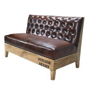 sofa denia capitone style