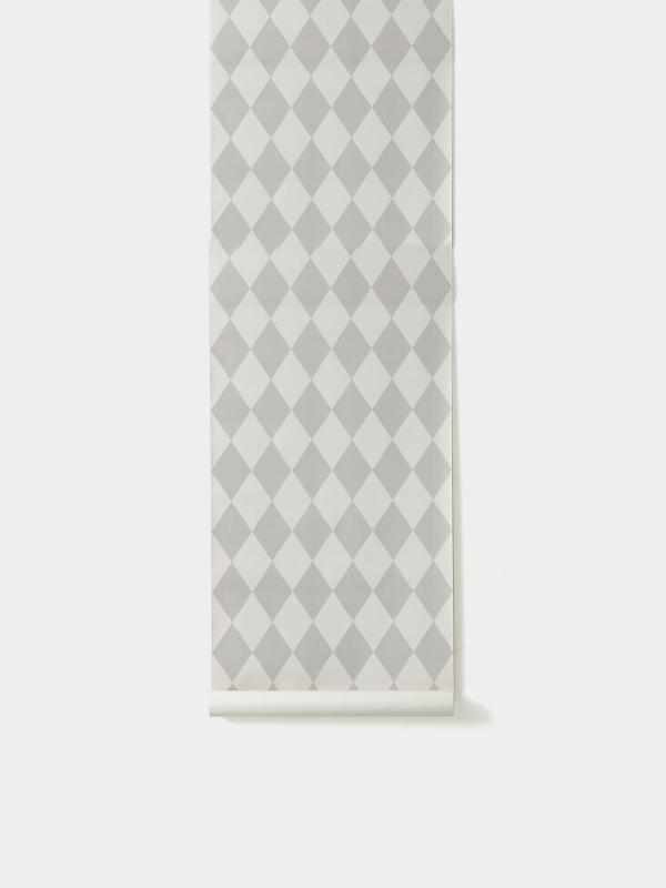 TAPETAI FERMLIVING, Harlequin Wallpaper - Grey