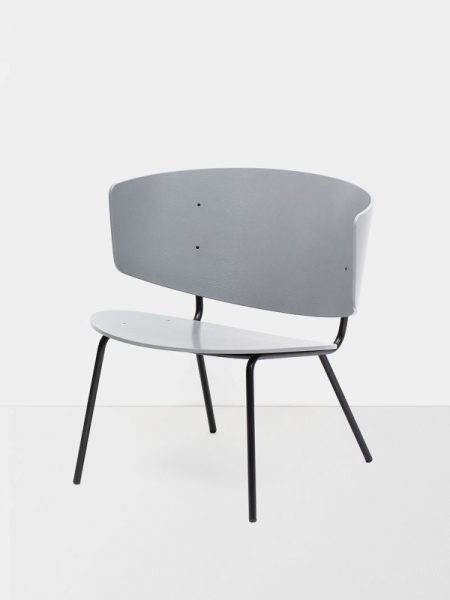 fotelis Herman Lounge Chair - Grey