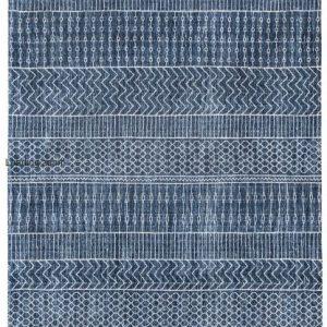 kilimas AGADIR, 8676 Scarab Blue