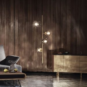šviestuvas lounge orb pendant interjere