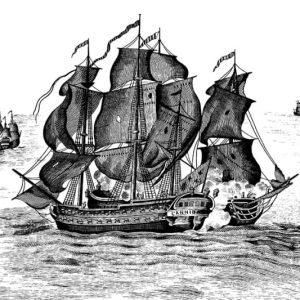 Tapetai Rebelwalls, High Seas, Black