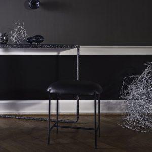 kėdė relax stool black interjere