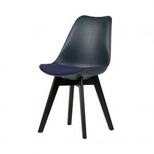 kėdė Set of 2 - stan dining chair blue (2)