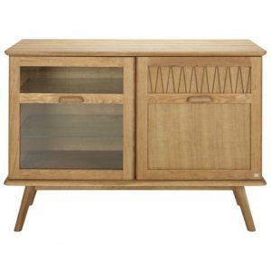 komoda ZigZag sideboard 110cm oak oiled 660-110