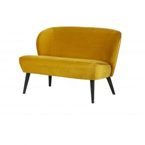 sofa Sara small sofa velvet ochre (2)