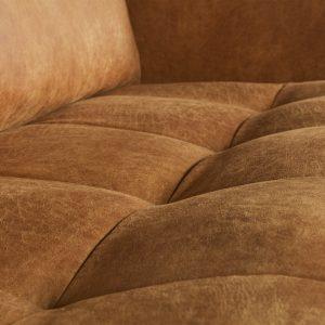 sofa Rodeo classic sofa 3-seater cognac 2