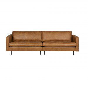 sofa Rodeo classic sofa 3-seater cognac