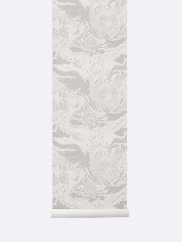 tapetai, fermliving, Marbling Wallpaper, Beige, 187