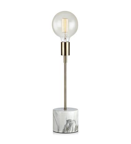 šviestuvas ROUND Table 1L 41cm White marble print AB
