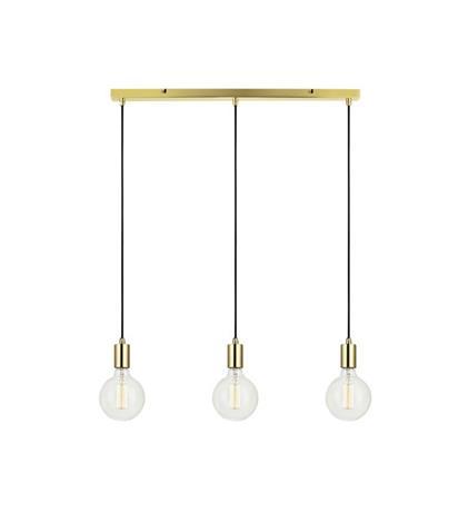šviestuvas SKY Pendant 3L Straight Brass