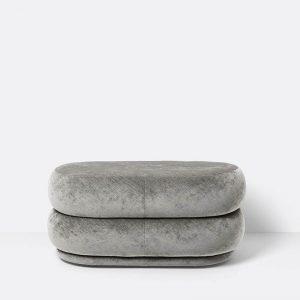 pufas Oval - Concrete - Medium