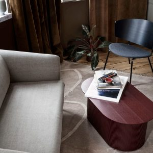 sofa Turn 2 - Cotton Linen - Natural interjere 2