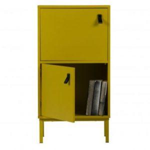 spintele Nico cabinet mdf mustard 3