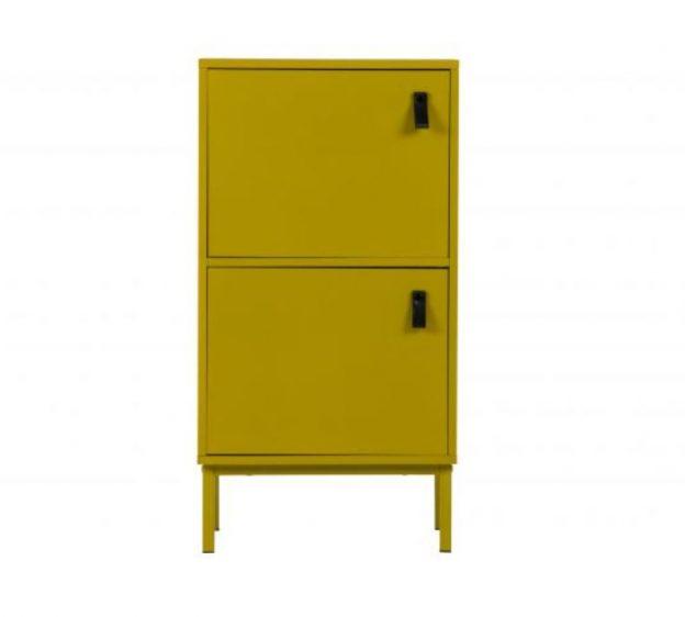 spintele Nico cabinet mdf mustard