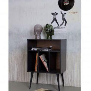 spinteleJames small cabinet wood black interjere