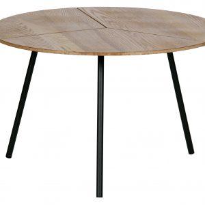 staliukas Rodi coffee table l wood metal brown 38xø60 (2)