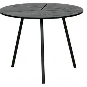 staliukas Rodi coffee table m wood metal black 38xø48 (2)