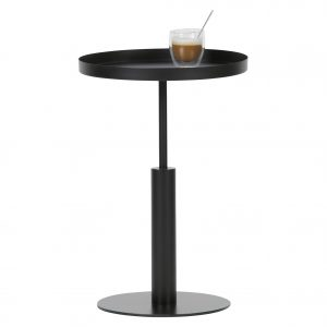 staliukas Silke sidetable metal black 2