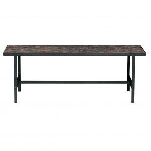 staliukas Turn around coffeetable black 36x100x54