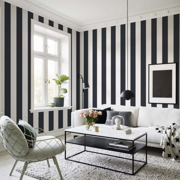 TAPETAI-SCANDINAVIAN-STRIPES-MAGNUS-BLACK-516-91-INTERJERE