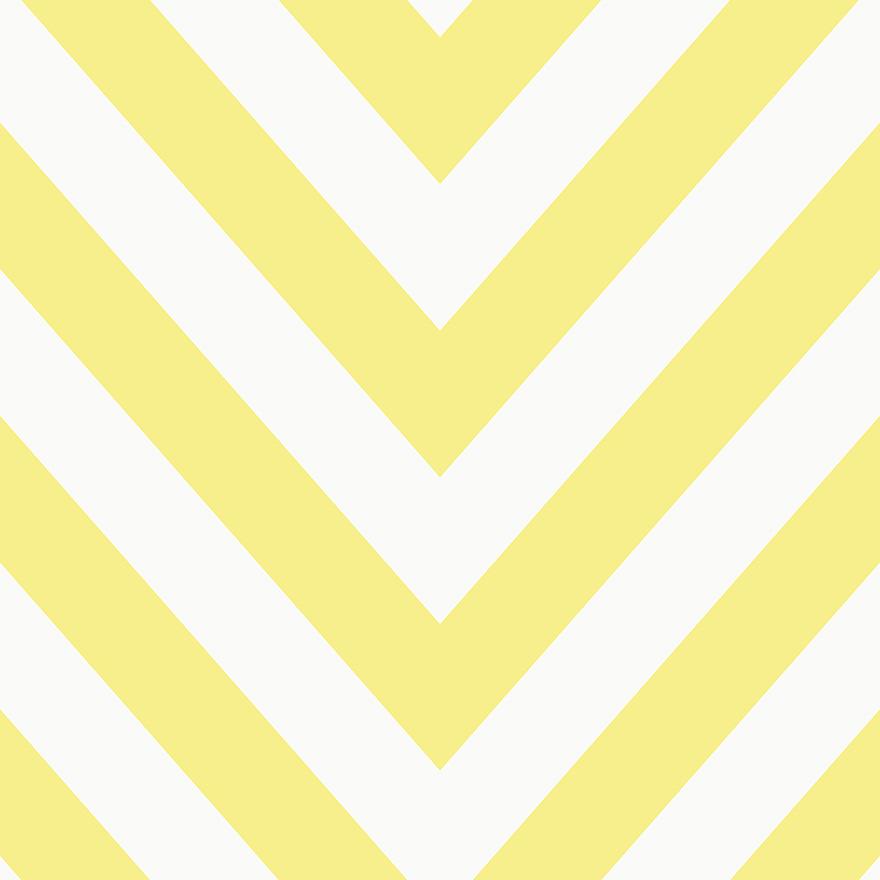 Tapetai make believe, chevron yellow, 12573