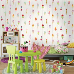 Tapetai make believe, lollipops multi, 12450 interjere