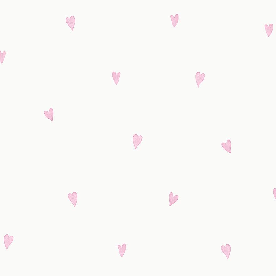 Tapetai make believe, love hearts pink, 12581