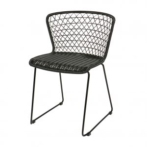 kėdė Set of 2 - quadro chair black 2
