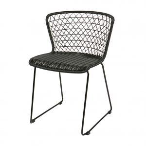kėdė Set of 2 - quadro chair black 2