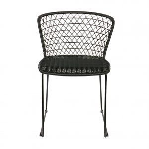 kėdė Set of 2 - quadro chair black