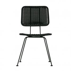 kėdė hilde dining chair black