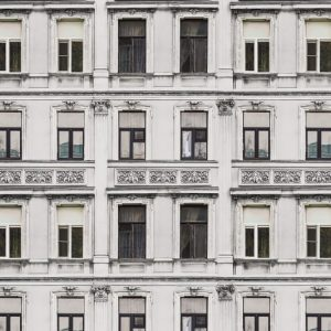 tapetai rebelwalls, deco, Rue Relief, White R15932