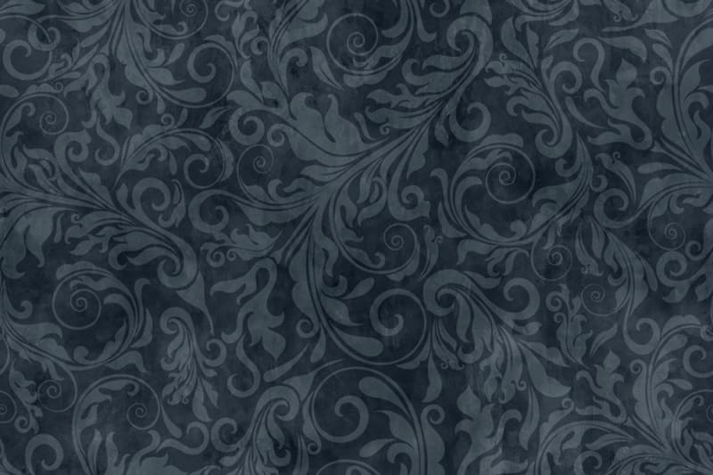tapetai rebelwalls, deco, Twining Vines, Navy R16252