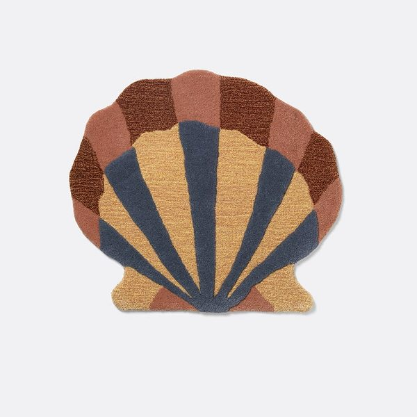 kilimas Tufted Wall Floor Deco - Shell