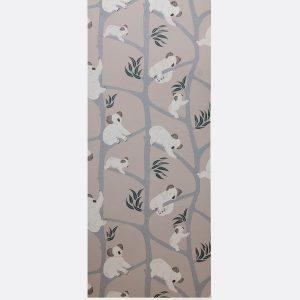 tapetai Koala Wallpaper - Grey