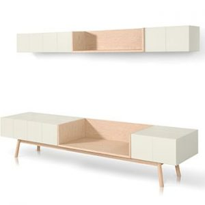 Drawers and shelves