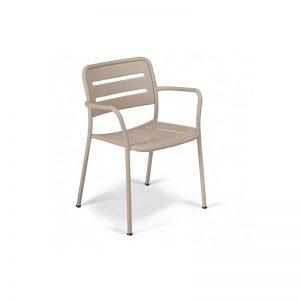 Lauko baldai fotelis dekorama