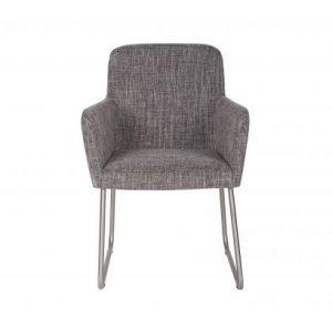 Baldai kede dekorama Crafton dining chair with arm grey